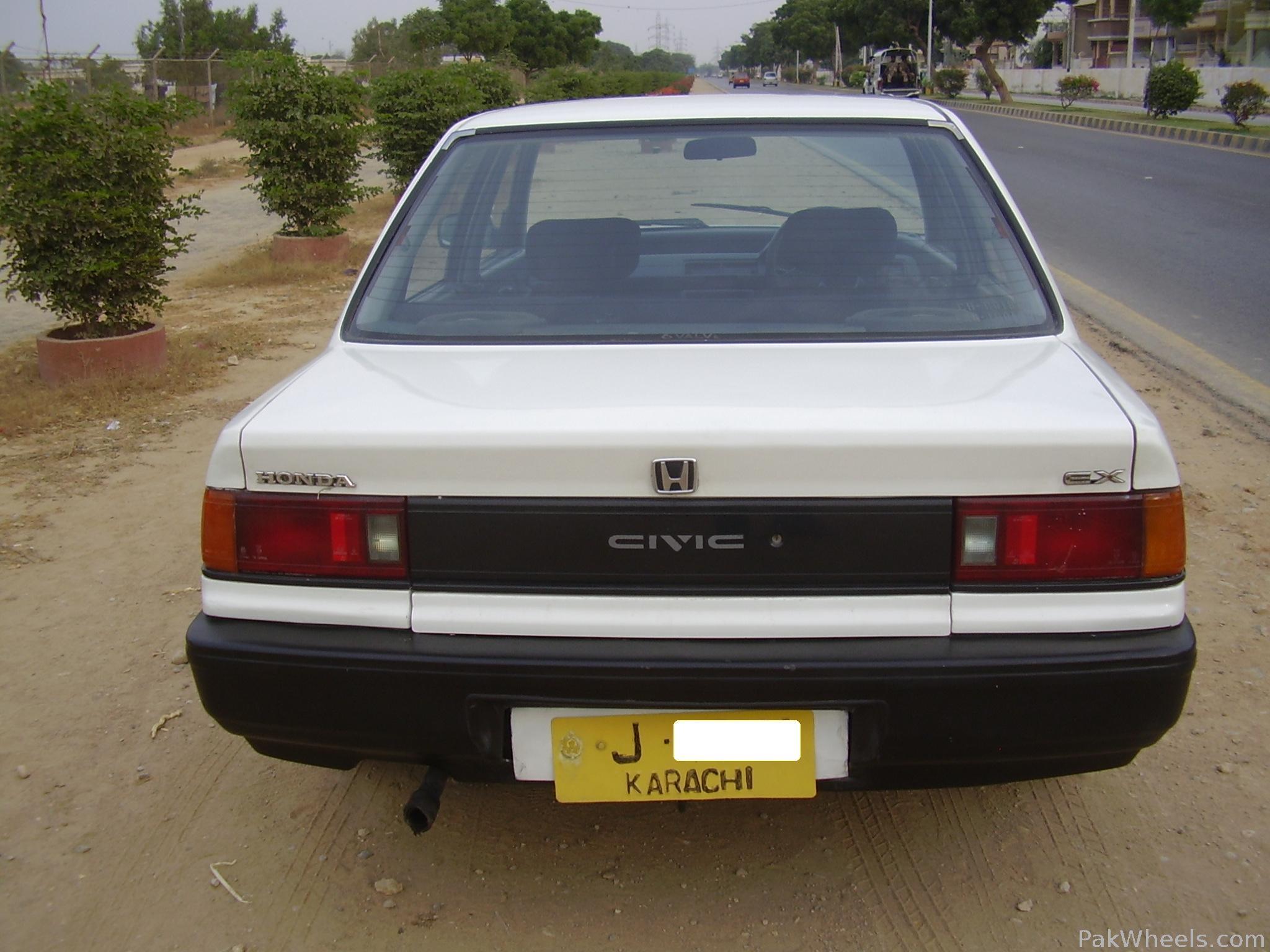 Honda civic 1988 for sale in karachi pakwheels for Honda civic 1988