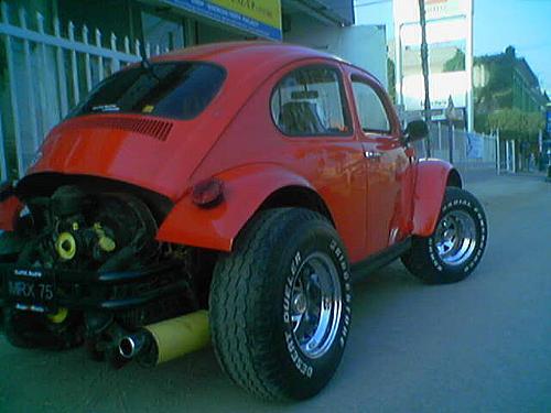 Volkswagen Beetle - 1966 Monster Bug Image-6