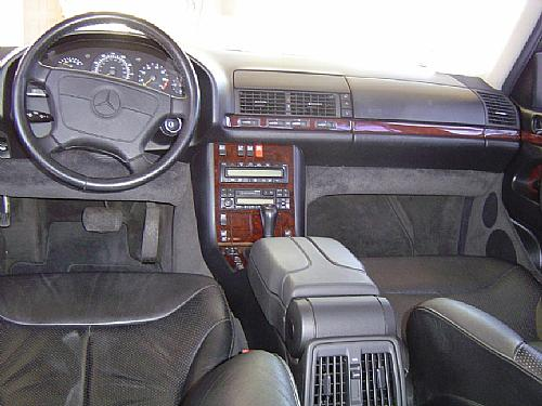 Mercedes Benz S Class - 1999 TANK Image-9