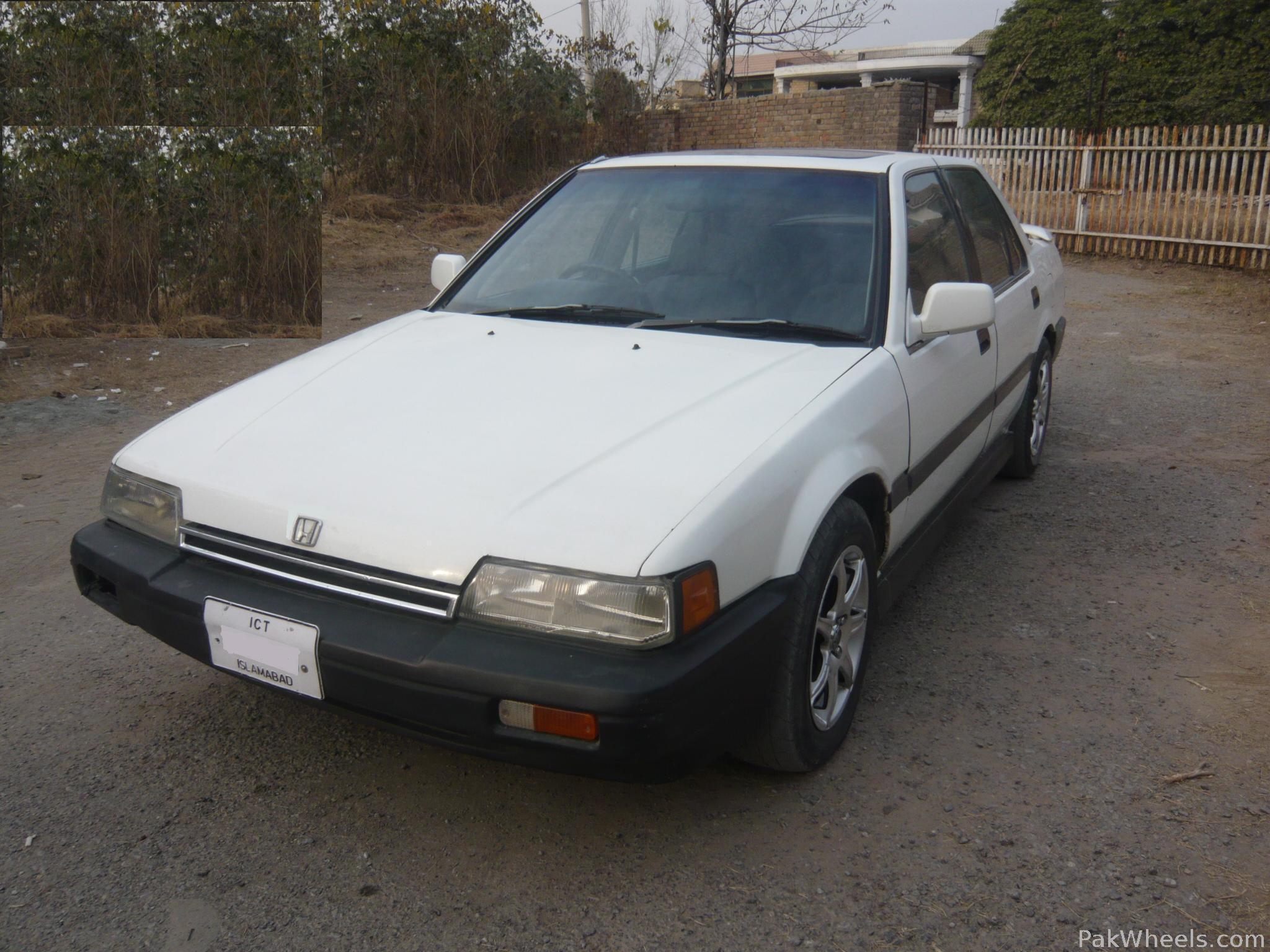 Honda Accord 1987 of Pkwheel - Member Ride 12093 | PakWheels