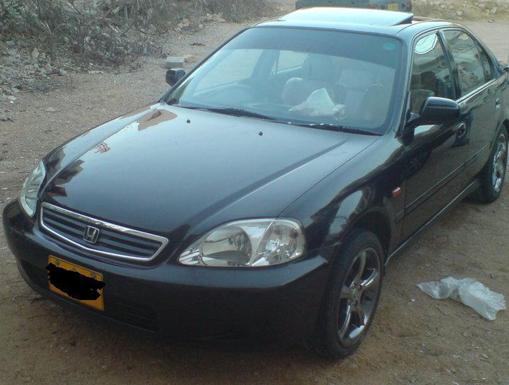 Honda Civic - 2000 Black Beauty Image-1