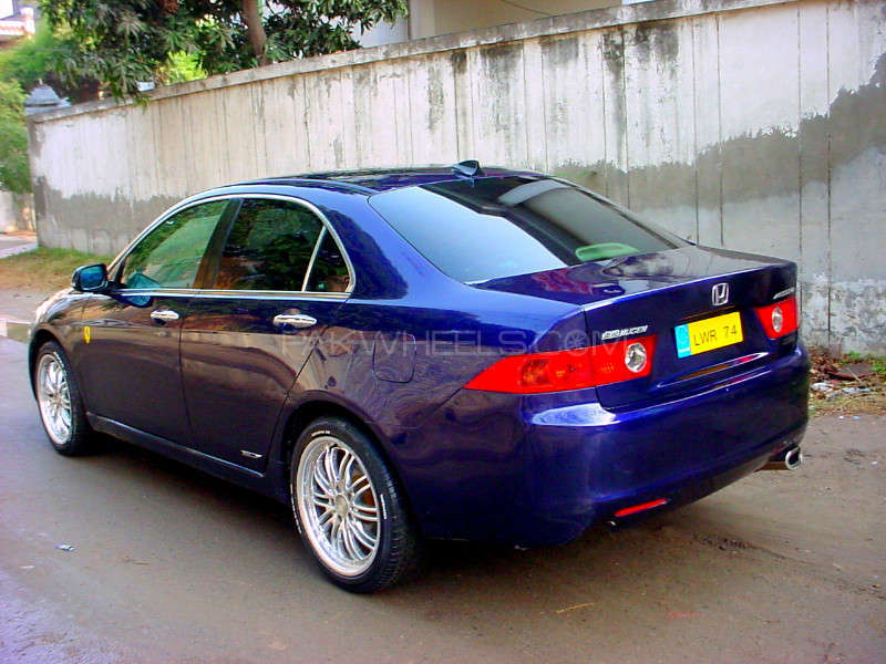 honda accord cl7 2003 for sale in lahore pakwheels. Black Bedroom Furniture Sets. Home Design Ideas