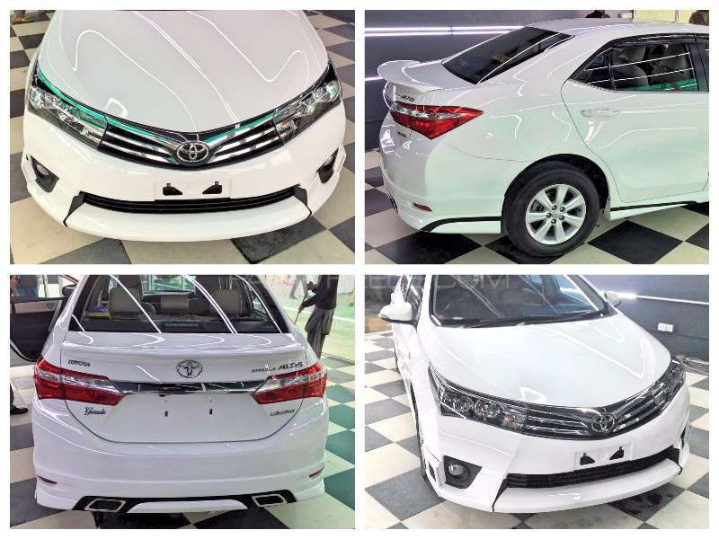Toyota Corolla Body Kit (Thailand-ABS Plastic) For Sale Image-1