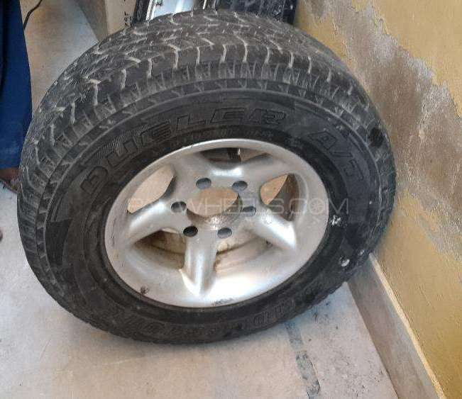 Pajero rims and tyres Image-1