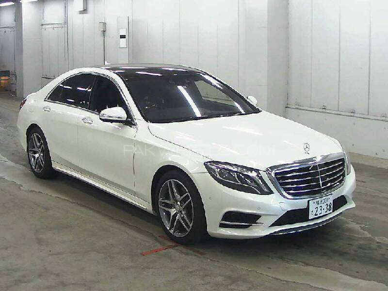 Used mercedes benz s class s400 hybrid 2014 car for sale for Mercedes benz s400