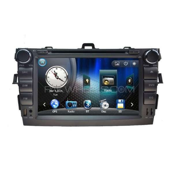 corolla 2009 8 inches dvd player Image-1
