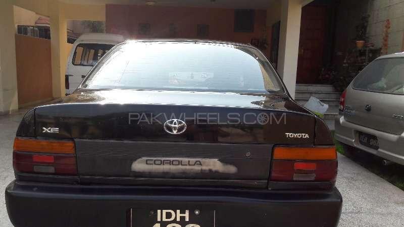 toyota corolla xe 1995 for sale in rawalpindi pakwheels. Black Bedroom Furniture Sets. Home Design Ideas