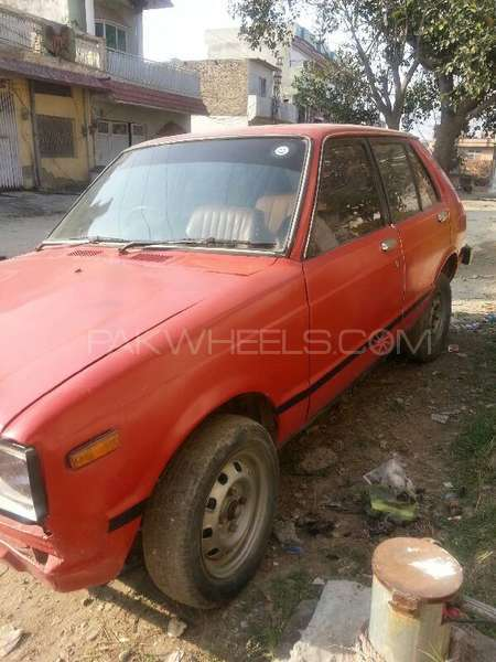 toyota starlet 1 0 1981 for sale in islamabad pakwheels. Black Bedroom Furniture Sets. Home Design Ideas