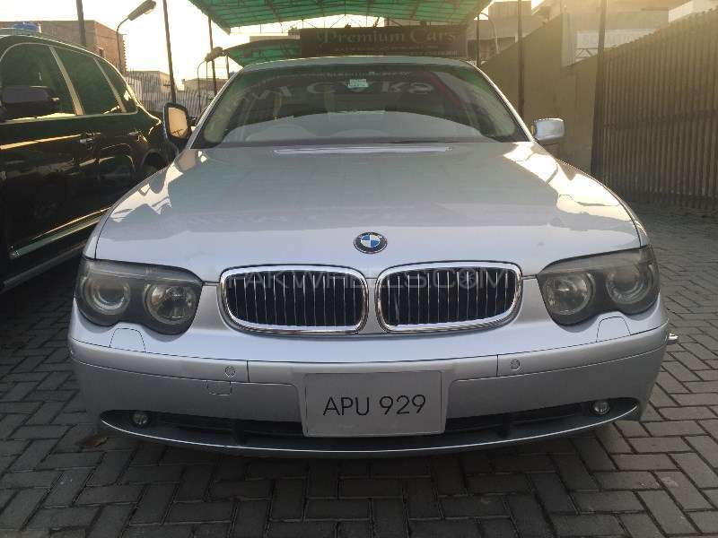 bmw 7 series 745i 2004 for sale in lahore pakwheels. Black Bedroom Furniture Sets. Home Design Ideas
