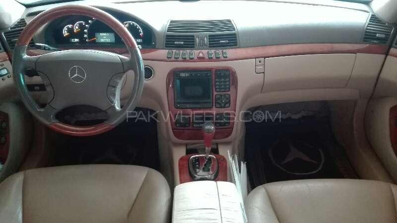 Mercedes Benz S Class S 320 2001 Image-3