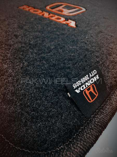 Honda City Car Floor Mats Geniune Image-1