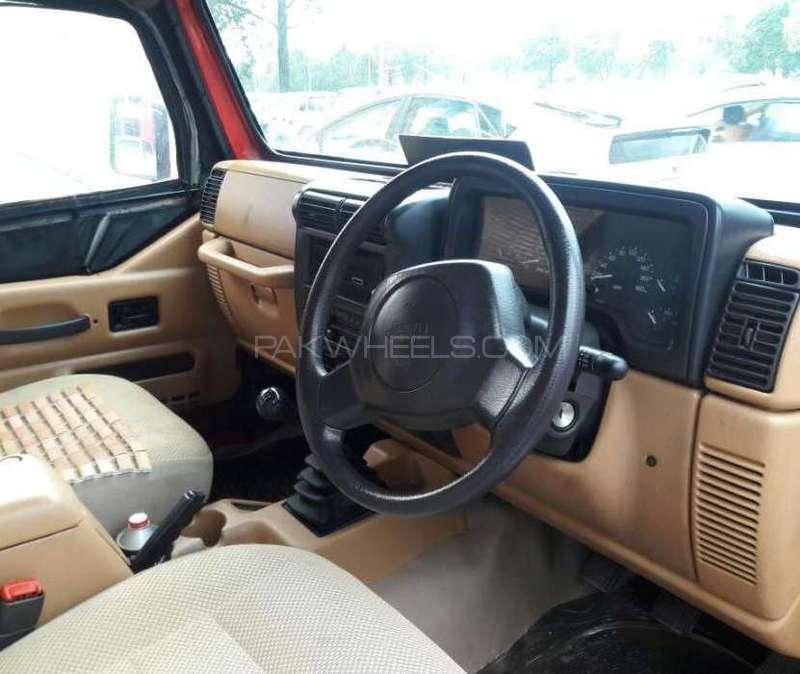 Jeep Wrangler 1990 Image-4