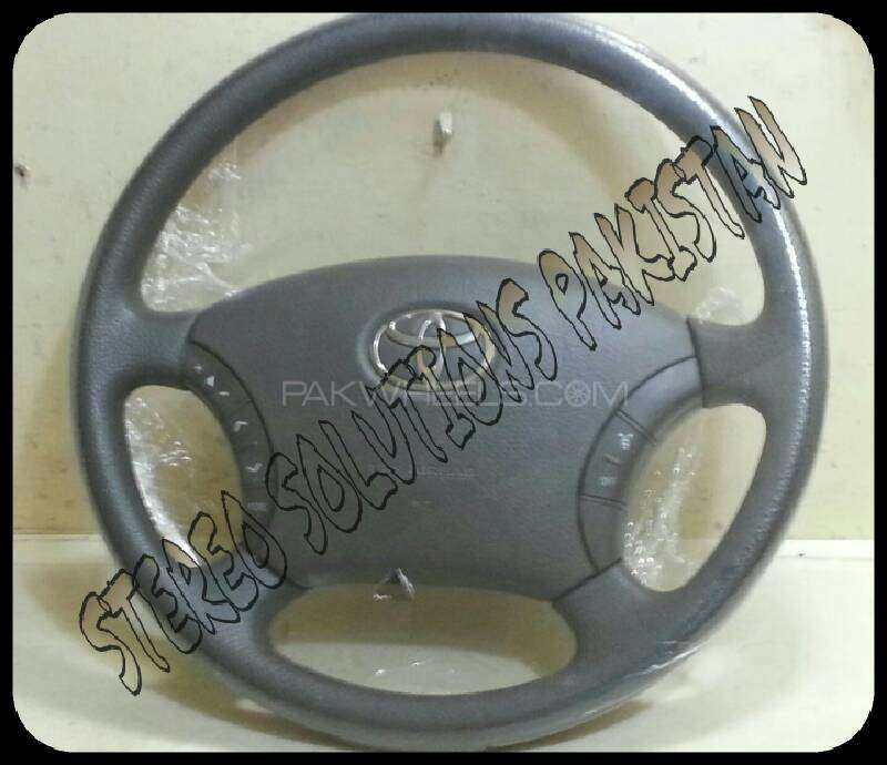 TOYOTA PARADO (2007) ORIGINAL MULTI STEERING WITH AIR BAG .. Image-1