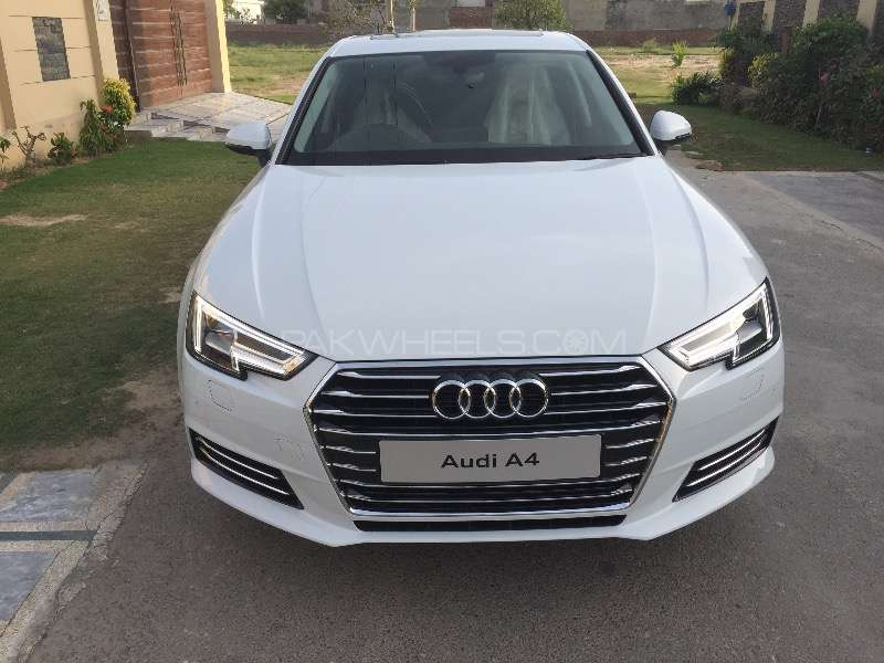 Audi A4 1 8 Tfsi 2016 For Sale In Lahore Pakwheels
