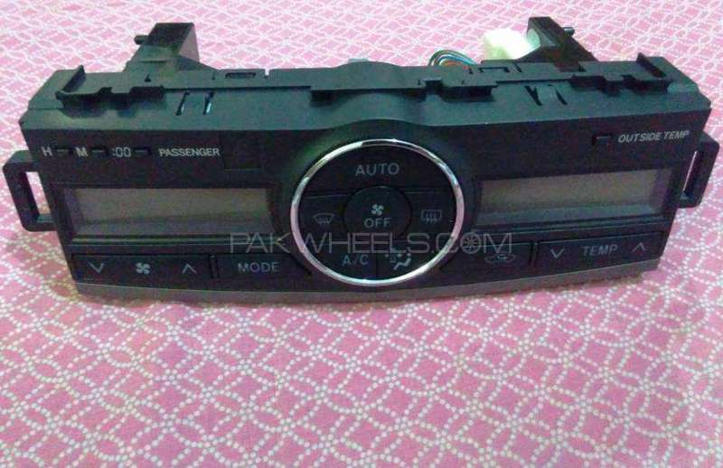 Toyota Premio 2008-15 Air Condition panel Monitor Covers Image-1
