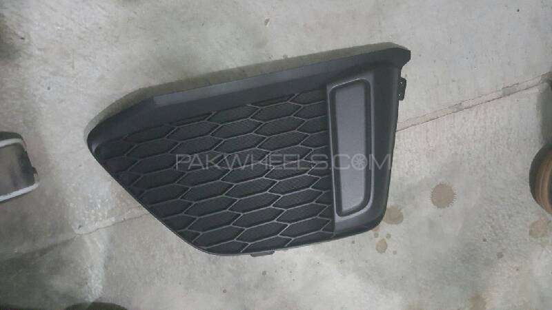 honda fit hybrid gp5 left fog lamp cover Image-1