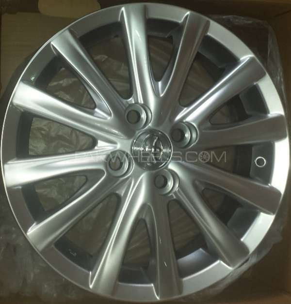 ALLOY WHEELS FOR TOYOTA AXIO & TOYOTA VITZ & AQUA Image-1