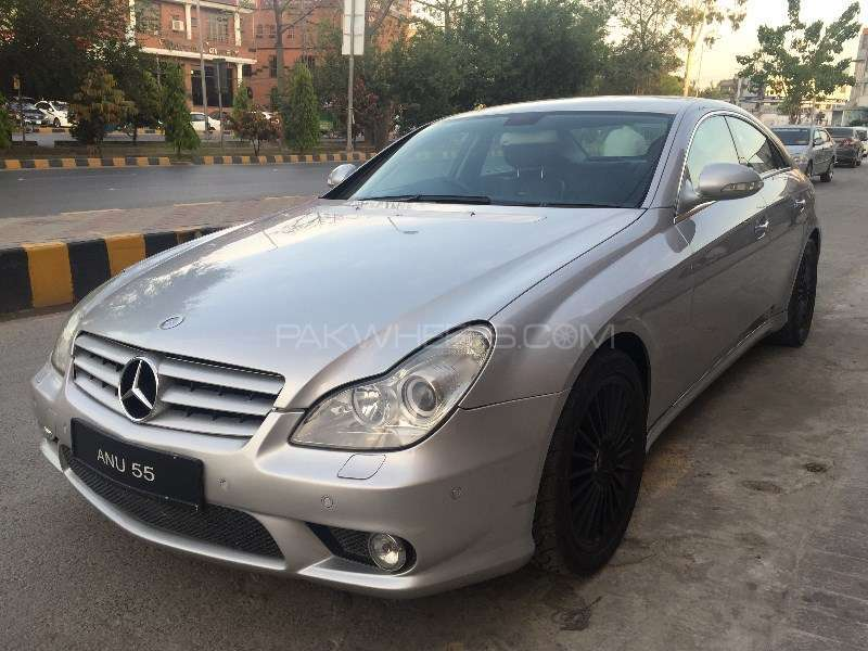 mercedes benz cls class cls500 2005 for sale in lahore pakwheels. Black Bedroom Furniture Sets. Home Design Ideas