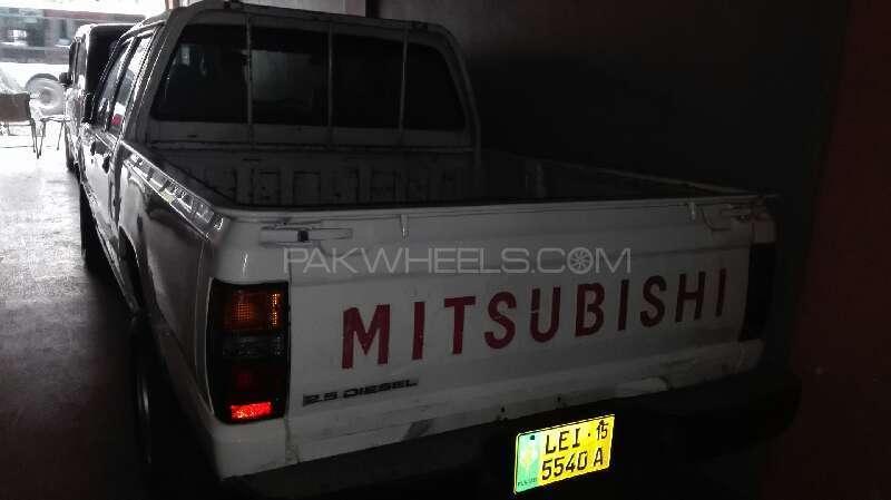 Mitsubishi L200 2.5 D/C 1991 Image-4