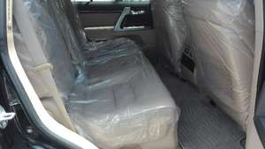 TOYOTA LAND CRUSIER 2012 AXG BLACK WITH BEIGE ROOM ORGNAL TV REDAR , 4.5  GRADE MODLESSTA BODY KIT  FRESH CLEARD ,