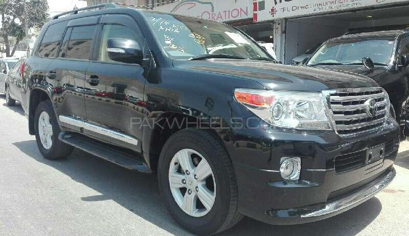 Toyota Land Cruiser AX G Selection 2012 Image-2