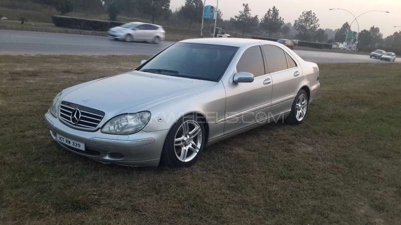 Mercedes benz s class s 320 2001 for sale in islamabad for 2001 mercedes benz s500 specs
