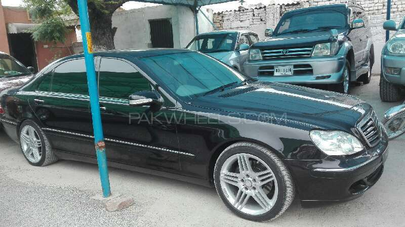 Mercedes Benz S Class S350 2004 Image-2