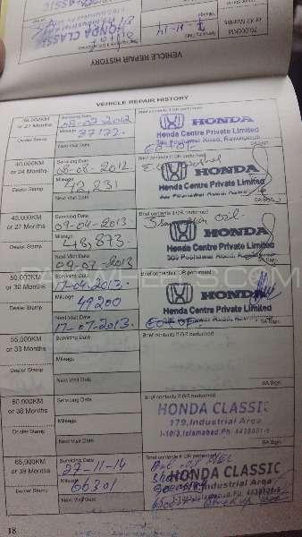 Honda Civic VTi Prosmatec 1.8 i-VTEC 2008 Image-13