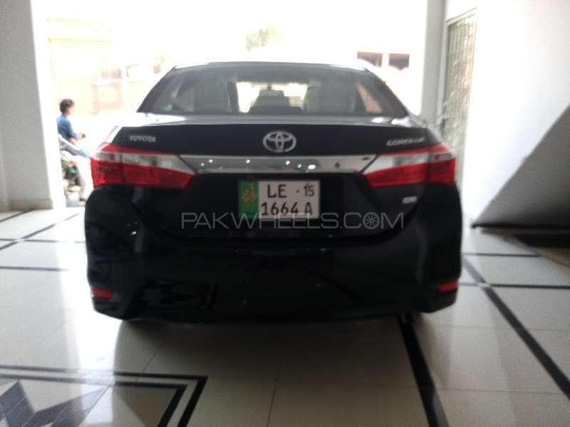 Toyota Corolla XLi VVTi 2015 Image-4