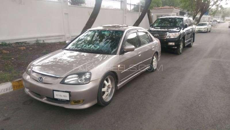 Honda Civic VTi Oriel Prosmatec 1.6 2002 Image-6