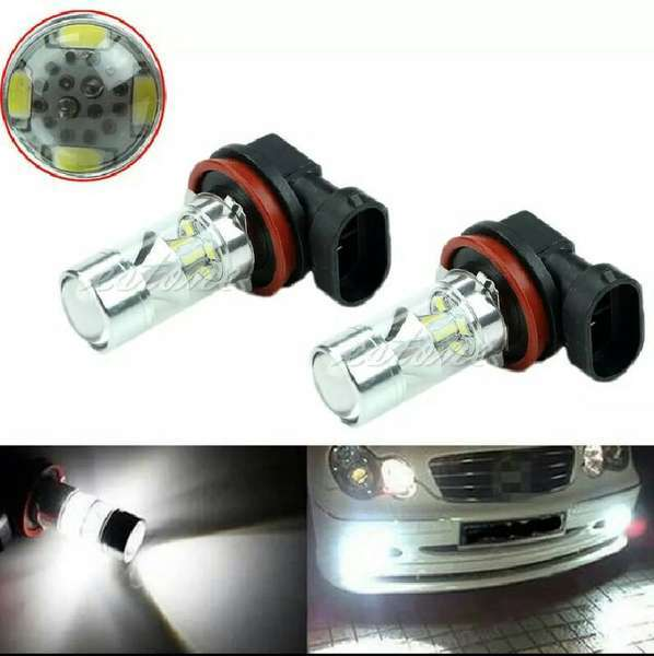 H11 high power samsung chip smd Fog/Lights 60watts Image-1