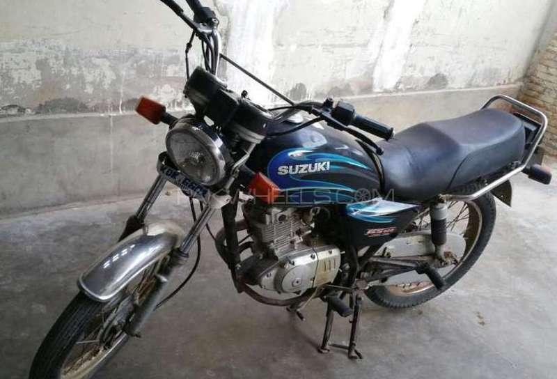 used suzuki rg 125 2007 bike for sale in karachi 161549. Black Bedroom Furniture Sets. Home Design Ideas