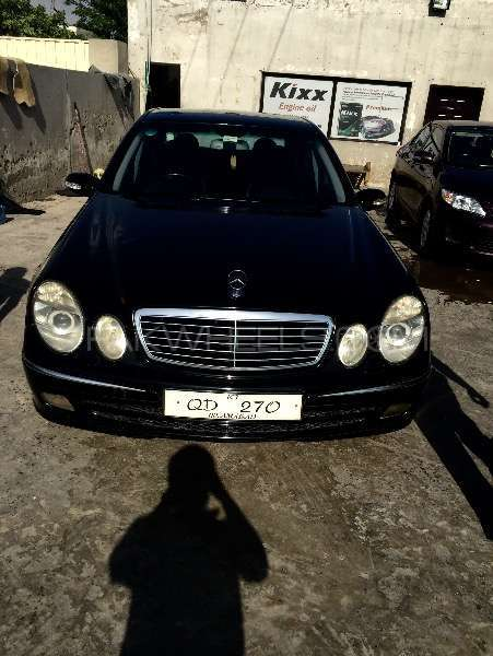 Mercedes benz e class 2005 for sale in gujranwala pakwheels for Mercedes benz g series for sale