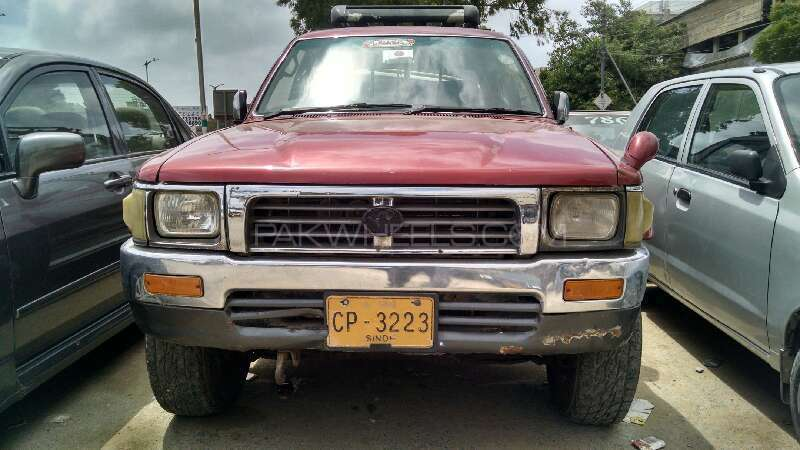 Lovely Toyota Hilux Double Cab 1995