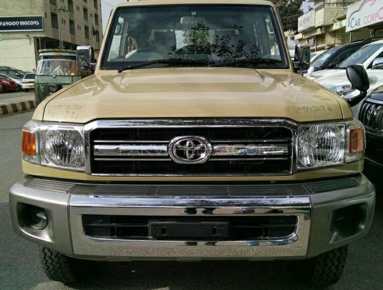 Toyota Land Cruiser 2015 For Sale In Karachi Pakwheels