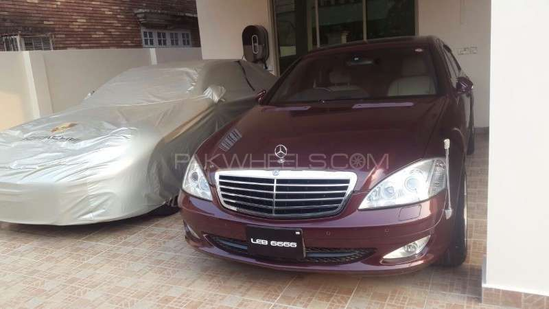 Mercedes benz s class s350 2007 for sale in lahore pakwheels for Mercedes benz s350 for sale