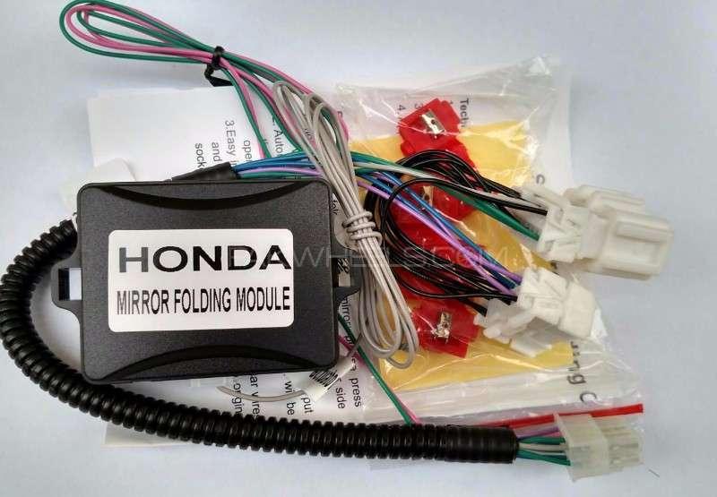 Honda Fit,Reborn,City,Vezel,Automatic Side Mirror Fold Kit Image-1