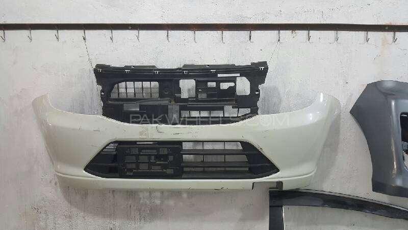 suzuki wagon r mh44 front bumper Image-1