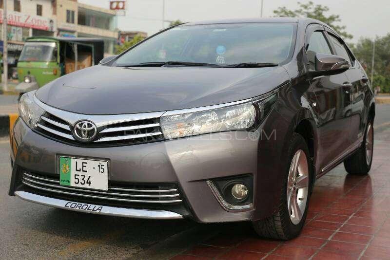 Toyota Corolla Gli New Model 2014 Complete Pictures | Autos Post