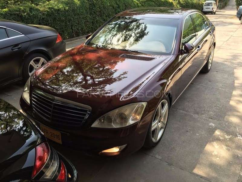 mercedes benz s class s350 2007 for sale in islamabad pakwheels. Black Bedroom Furniture Sets. Home Design Ideas