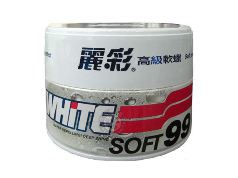 Soft 99 White Wax Image-1