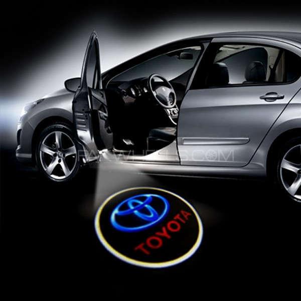 Door Light Logo - Toyota Image-1