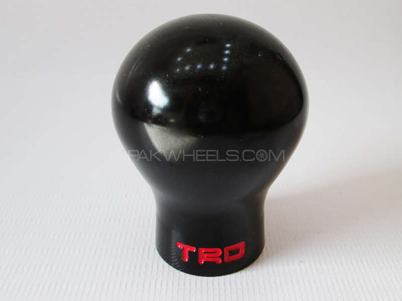 Gear Knob - TRD Pure Black Image-1