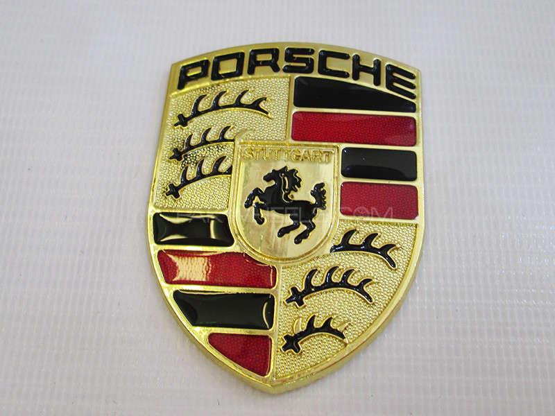 Emblem - Porsche  Image-1