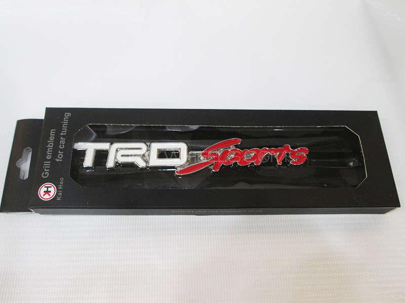 Grill Emblem - TRD Sports Image-1