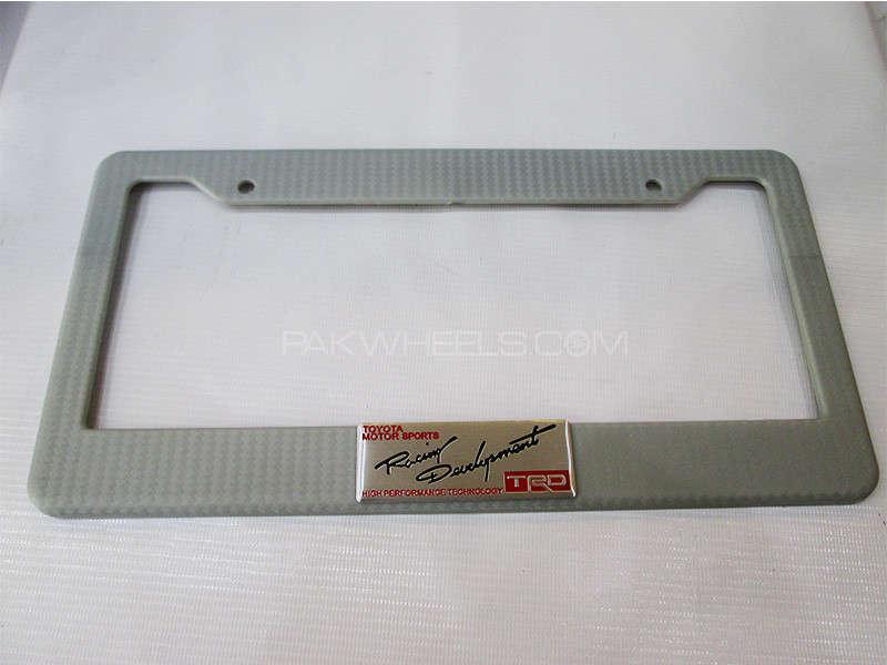 Number Plate Frame - TRD Image-1