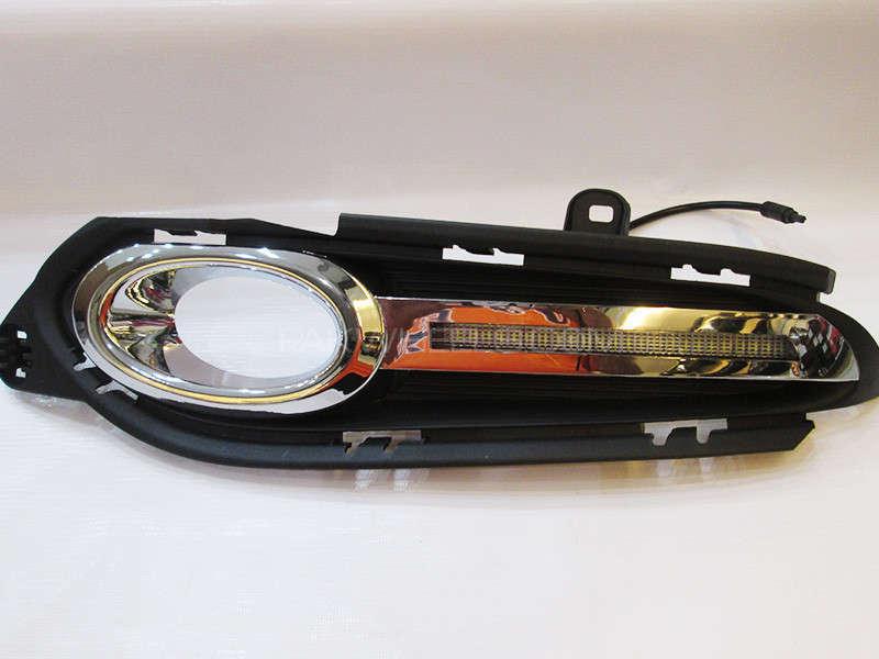 Vezel LED Fog Light Cover - Straight Image-1