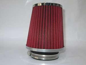 Air Intake Filter - Medium Size (Chrome Top) in Lahore