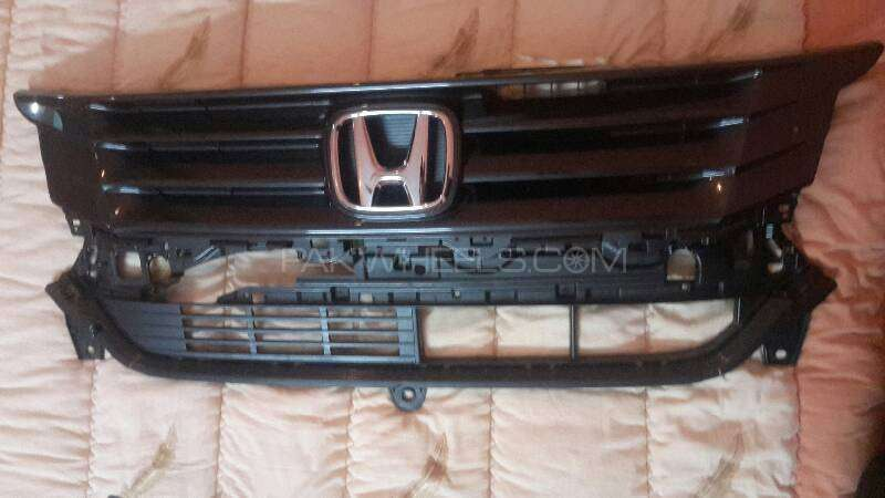 Honda N WGN custom bumper grill Image-1