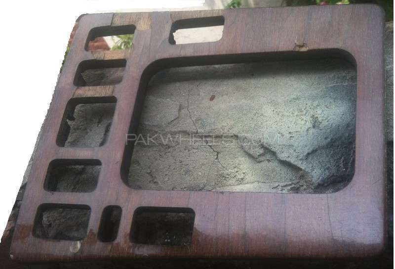Mercedes Benz W201 Console Wooden Plate Image-1
